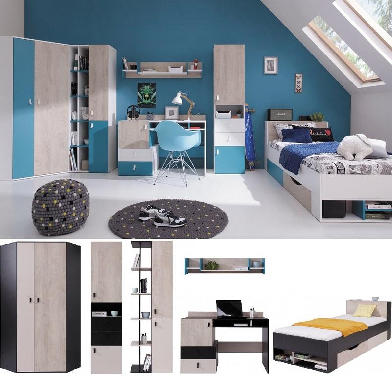 Jugendzimmer komplett Space Set A - QMM TraumMoebel