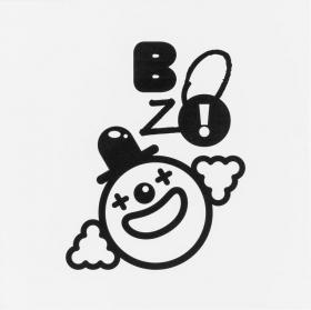 Metallplatte Bozo