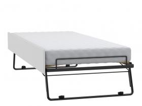 Gästeliege für Bett/Couch 200x90 Black&White weiss