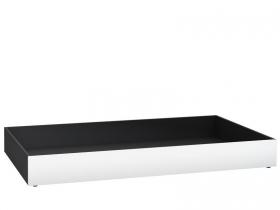 Rollschubkasten für Bett/Couch 200x90 Black&White