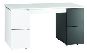 Schreibtisch Transformers mit weißer Schreibtischplatte