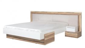 Bett 200x160 Montana Weiß