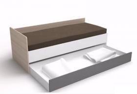 Schublade zum Bett 200x90 3-Colors