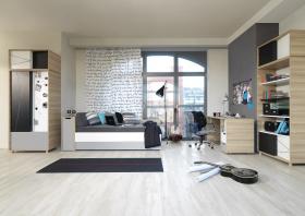 Jugendzimmer komplett 3-Colors