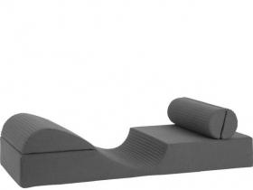 Kriechende Matratze 200x90 mit Rollnacken