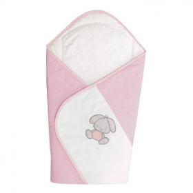 Baby-Einschlagdecke Rosa