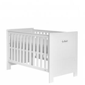 Kinderbett 140x70 Saint-Tropez Weiß MDF