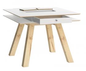 Tisch 100x100 weiss Calgary