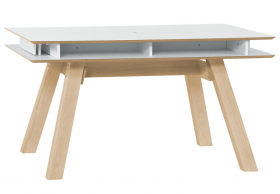 Tisch 140x100 ausziehbar weiss Calgary