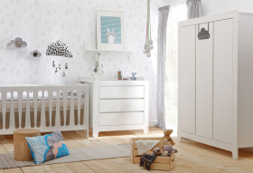 Babyzimmer komplett Nicea Set B