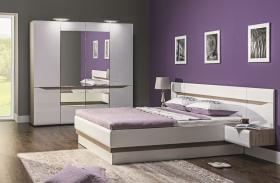 Schlafzimmer komplett Linn 4-tlg Set A