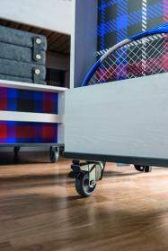 Container mit Regalen für Hochbett Multi Nevis