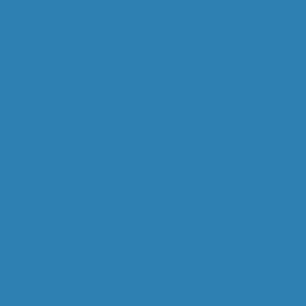 Metallplatte Blau für Schreibtisch Black&White