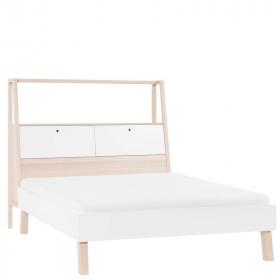 Bett 200x180 Indiana mit Kopfteil mit Behälter