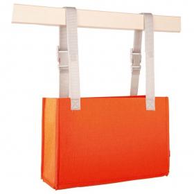 Aufbewahrung Ordo vertikal orange