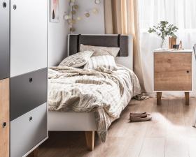 Polsterlehne für Bett 200x90 Colin