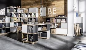 Büromöbel Set komplett Imagine dunkel