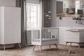 Babyzimmer komplett 4-tlg. Nils