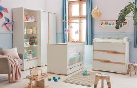 Babyzimmer komplett Spring weiß Set A