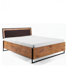 Bett 200 x 140/160/180 Lotos mit Lattenrost & Bettkasten