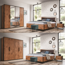 Schlafzimmer komplett Lotos Set B
