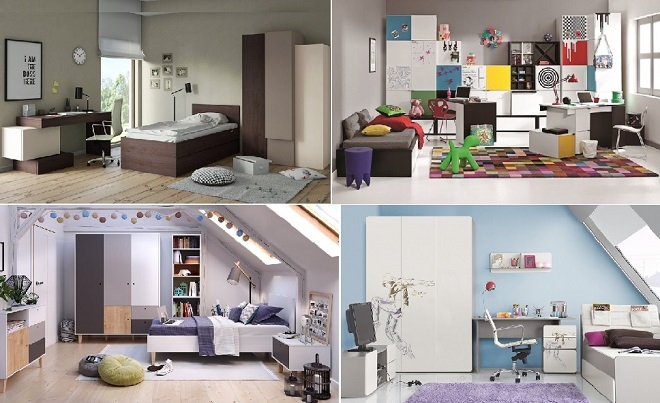 jugendzimmer jungen jugendzimmer m dchen g nstig bei qmm traumm bel qmm traummoebel. Black Bedroom Furniture Sets. Home Design Ideas